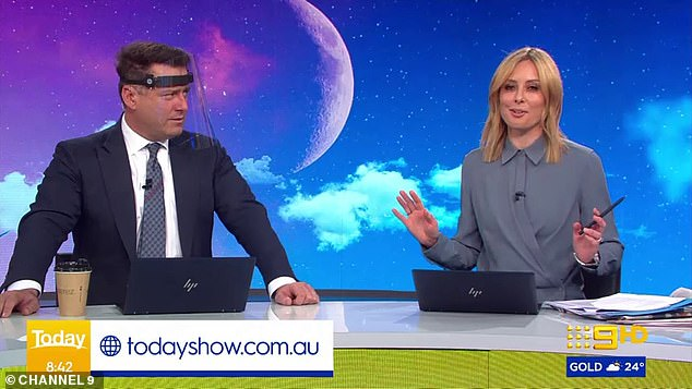 Kicking up a stink! Today show host Karl Stefanovic failed to keep the law and odour on Thursday's episode as he savagely accused Allison Langdon of smelling like garlic