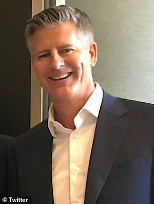 IDP Education CEO Andrew Barkla (pictured) was gifted a $683,000 bonus despite already earning over 400 times the average wage at $37million per year