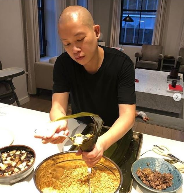 Create at all costs: The Taiwanese-Canadian visionary has been cooking up a storm in quarantine as the designer brings his creative talents to everything he touches