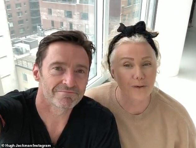 'He's a big baker!'Deborra-Lee revealed that she and Hugh have been using the time in lockdown to reconnect and that he has been baking everyday