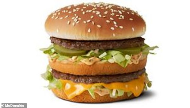 McDonald's believe the Big Jack is 'substantially identical or similar' to their own Big Mac (pictured)