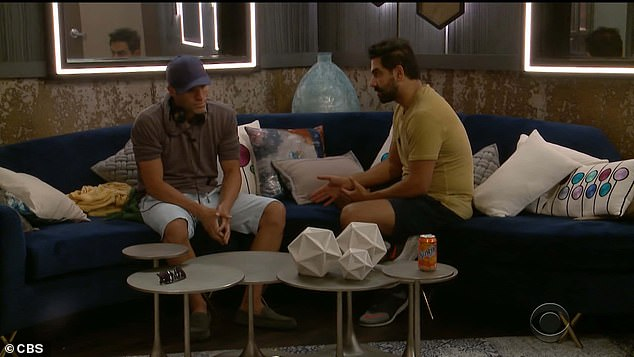 Nice try:Kaysar went to speak to Enzo, too, hoping to convince the man to shift his allegiances and considering that 'even though he nominated me, in Big Brother, things change on a dime'