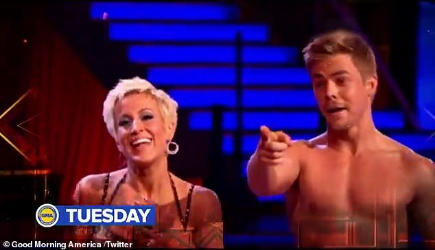 Cast:Just hours before Hough's return was teased, the celebrity cast of Dancing With the Stars Season 29 was announced