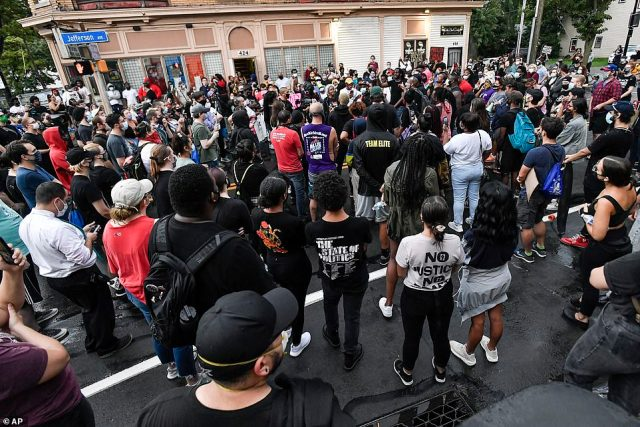 Activists are demanding that officers involved with Prude's death be prosecuted on murder charges and that they be removed from the department while the investigation proceeds
