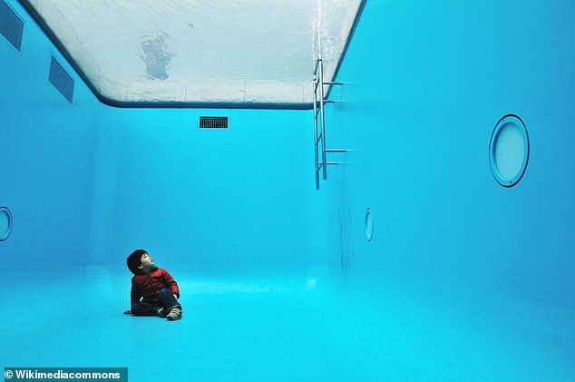 Swimming Pool by Leandro Erlichat, another mind-bending inspiration for the research project