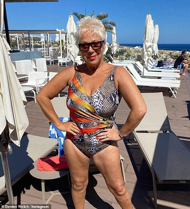 Turning heads: The former Corrie actress showcased her youthful-looking figure in photos shared to social media from her sun-soaked getaway to Malta last month