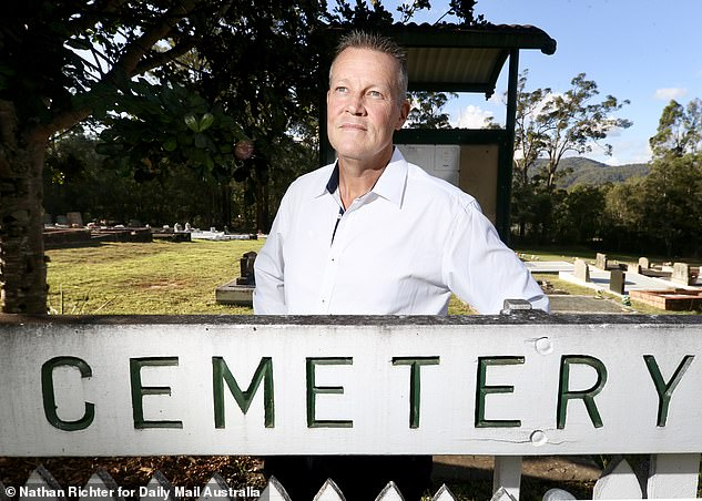 Bill Edgar was a private investigator until an elderly man asked him to intercept his funeral three years ago to call out his best friend for 'trying to screw' his wife