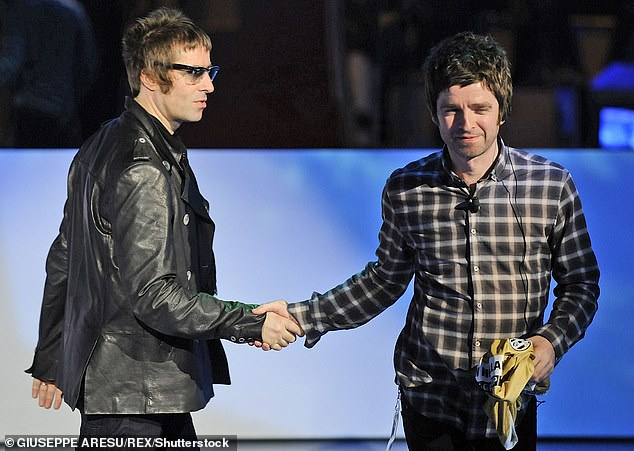 Tommy Gallagher is the father of Oasis brothers Noel and Liam Gallagher (pictured together)