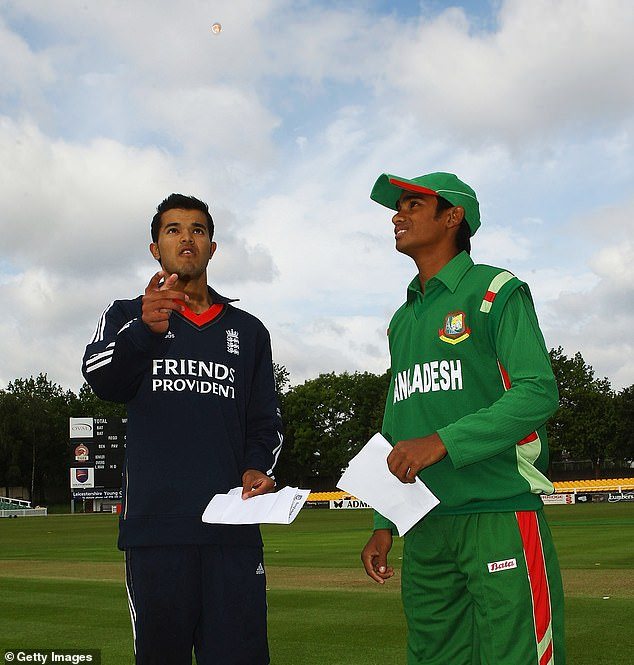 Rafiq (left, pictured 2009) captained England at Under 19 level and played for Yorkshire