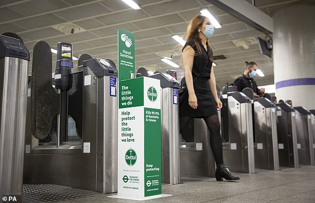 Dettol and TfL launched 800 sanitiser units across the London Underground network today