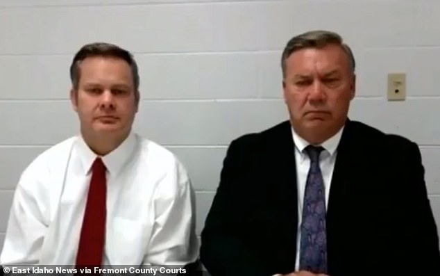 Chad is now seeking to avoid trial altogether after his attorney, John Prior (pictured together in court on August 21), filed a motion asking to dismiss his client's entire case last week