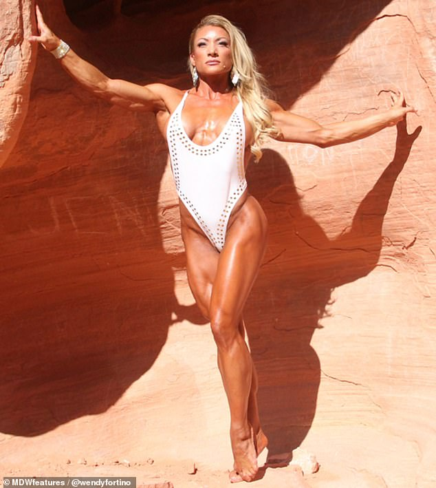 Motivation: Wendy wants to inspire other women to embrace their muscles and embark on a personal fitness journey