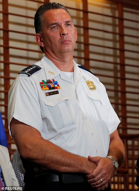 Chief Peter Newsham on Wednesday said it would be 'improper' to speculate on what prompted the officers to open fire, but he said two firearms were recovered from the scene.