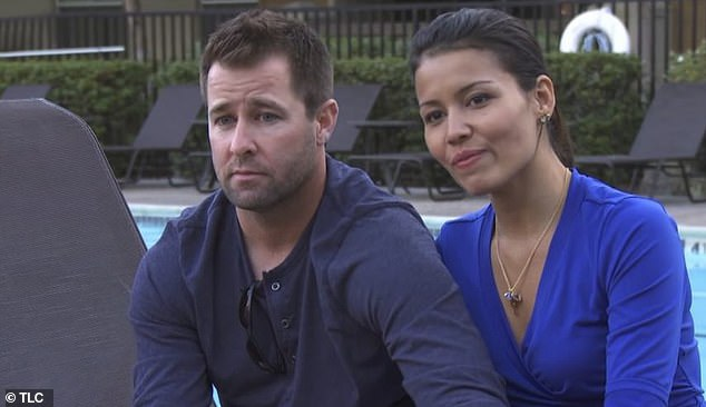 TV stars:Evelyn and Justin appeared on season two of the hit TLC series, 90 Day Fiance