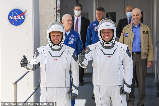 None of SpaceX's recent accomplishments can compare to their joint mission with NASA in May that sent astronauts Doug Hurley(left) and Bob Behnken (right) to the International Space Station