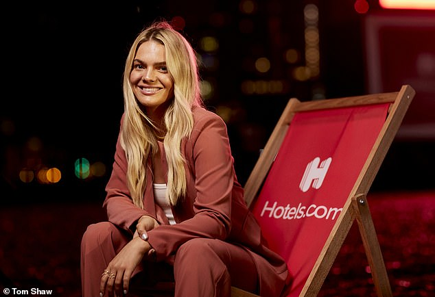 Star:Going on to discuss her new music, Louisa claimed her vision for her forthcoming album was 'flipped on its head' following lockdown