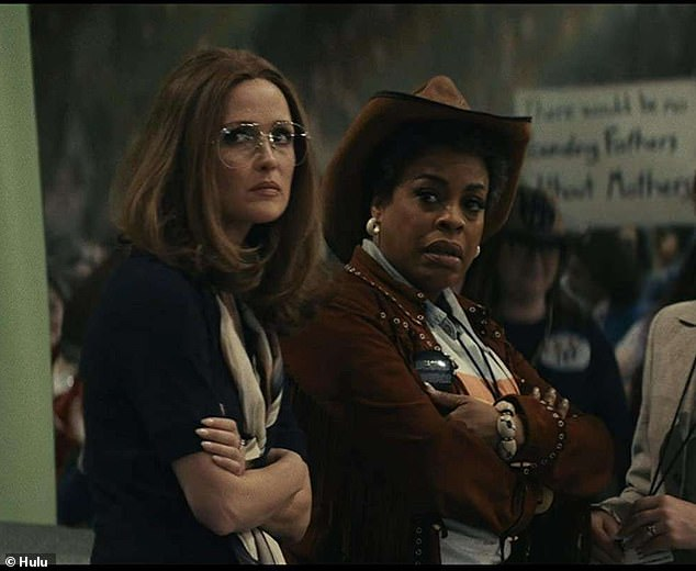 Not to be confused with: The Glorias feels a bit like déjà vu considering the nine-episode FX miniseries Mrs. America, which aired April-May on Hulu, also featured portrayals of Gloria Steinem, Flo Kennedy, andBella Abzug