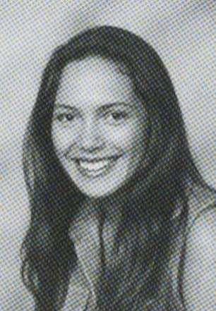 Yearbook photos from her time at Pepperdine University in Malibu appears to show she was already an advertising student there back in 1996- 1998