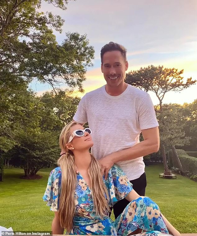 'I feel so safe with him': The socialite has been dating entrepreneur Carter Reum for nine months