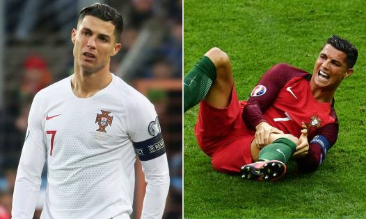 Cristiano Ronaldo may MISS Portugal's Nations League clashes with infected  foot   Daily Mail Online