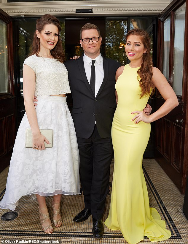 He's off!Bryan will remain a part of Hollyoaks until the end of 2020, meaning his storylines will continue to feature until June 2021 (pictured with Anna Passey and Nikki Sanderson in 2015)