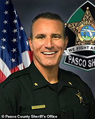Pasco County Sheriff Chris Nocco (pictured) implemented the program after he took office in 2011 and promised that it would make communities safer by relying on data to reduce and prevent crime
