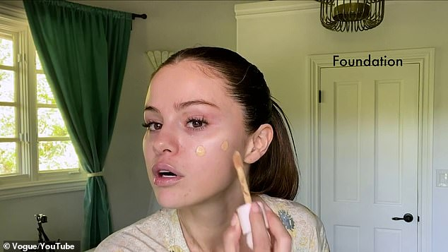 The basics:Then comes Rare Beauty Touch Weightless Foundation