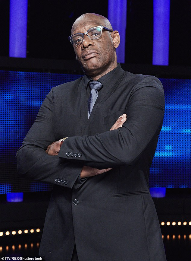 Shaun, who was born in London to Jamaican parents, adds that he still faced racism after passing the Bar. Pictured, on The Chase