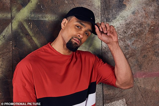 Standing in: Former BGT winner Ashley Banjo will sit in for injured Simon, after he was forced to miss the semi-finals to recover from his back injury