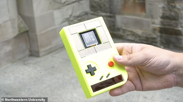A hand-held video game player that does not run on batteries is a scientific innovation, along with a parent's worst nightmare. Scientists have developed a device that looks similar to the iconic Nintendo Game Boy console that harvests energy from the sun and user
