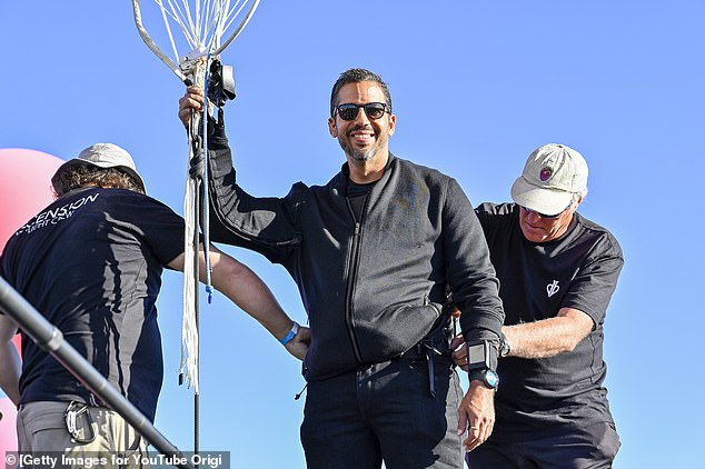Several other people have attempted Walters' stunt before Blaine, pictured - including a Japanese adventurer who set off in 1992 near Kyoto and was last seen 500 miles offshore over the Pacific ocean