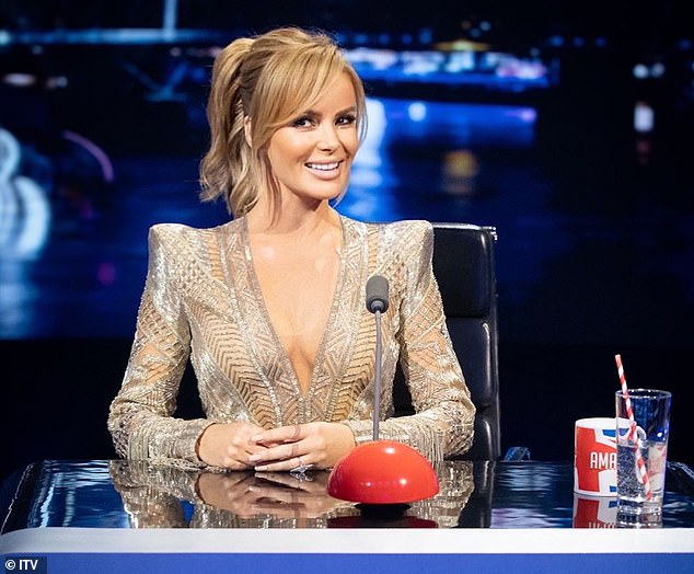 New job!It comes just hours after it was revealed that Amanda Holden has been promoted to head judge in place of Simon Cowell