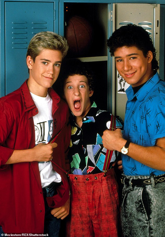 Reboot: Gosselaar and Lopez are appearing in the Saved By The Bell reboot for Peacock
