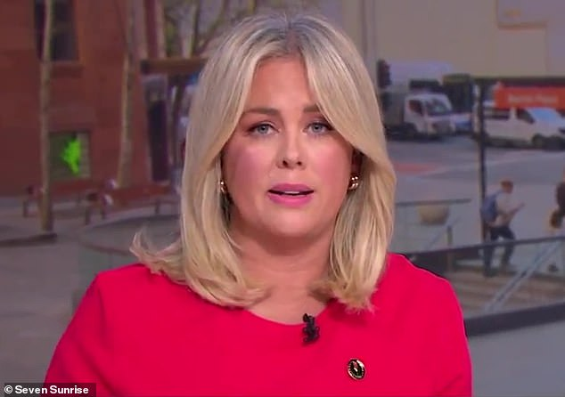 On Friday morning Sunrise host Samantha Armytage (pictured) called on the Queensland premier to lift border restrictions that were leaving one desperate town with no food