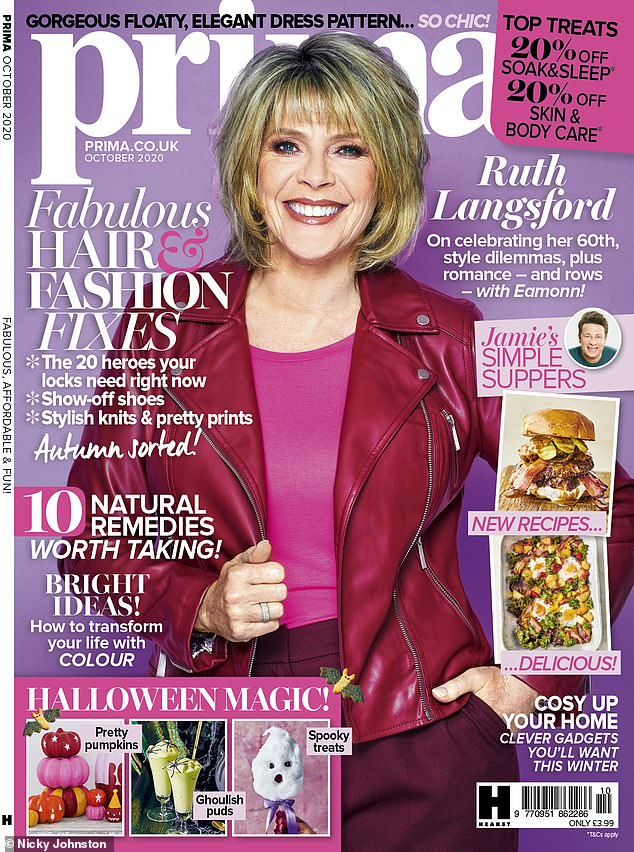 Out now! Read the full interview in Prima's October issue, on sale 4th September