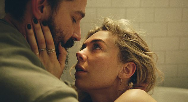 The actress ¿ along with screen husband Shia LaBeouf (above) and director Kornel Mundruczo ¿ wanted the birth scenes early on in the film to be as authentic as possible