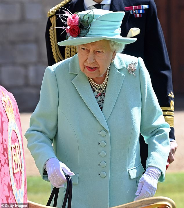 But the couple failed to tell the Queen (pictured in July) about their deal, which could be worth as much as $150million, before announcing it to the world, a royal source has claimed
