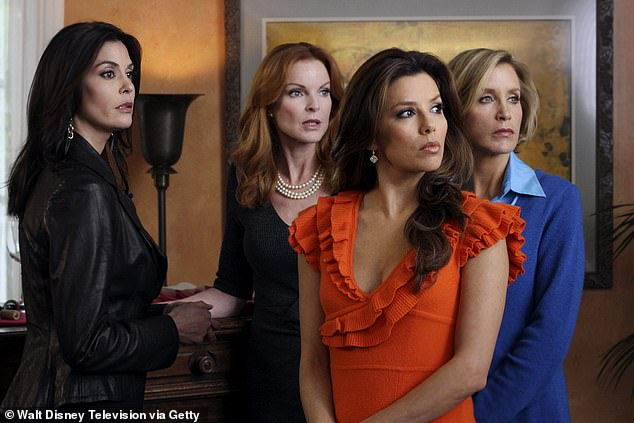 Reruns: Channel Nine chose to stop airing the U.S. talk show last month pending an internal investigation by WarnerMedia into accusations of racism, bullying and sexual harassment behind the scenes. The network is instead airing reruns of Desperate Housewives (pictured)