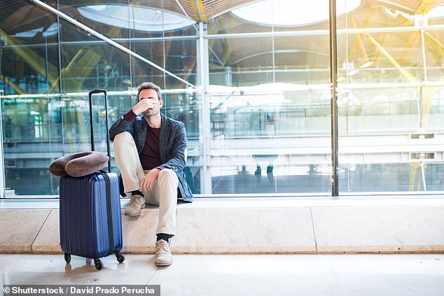 Women cope better with jet lag because their body clocks are set differently to men, according to new research (file photo)