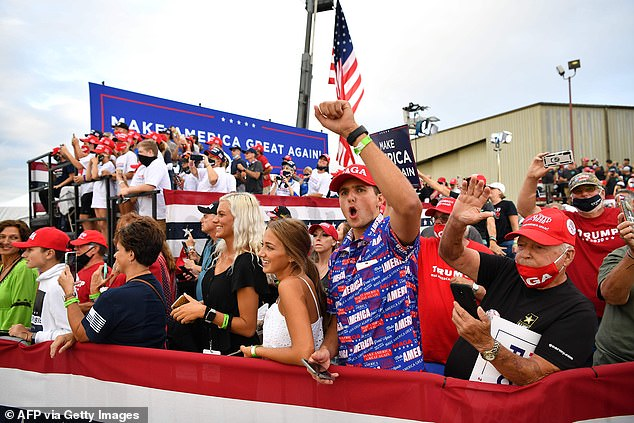 The rally at Arnold Palmer Regional Airport comes as Trump's campaign is claiming new signs of momentum, including in the longtime Democratic stronghold that Trump won by less than 45,000 votes in 2016