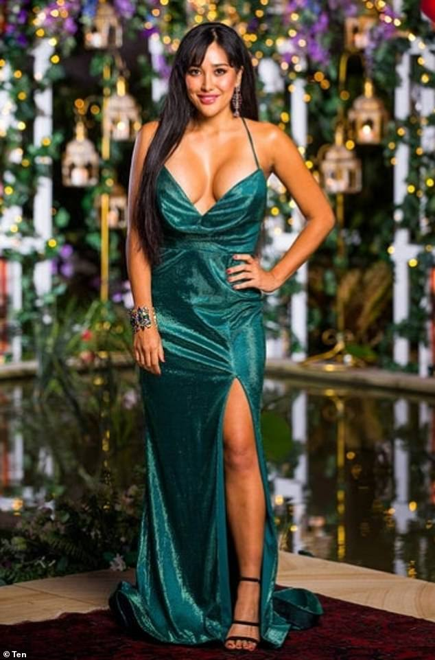 Not the first time! Last week, Juliette turned heads in a shimmering green frock that accentuated her eye-popping assets and left very little to the imagination