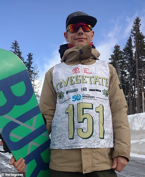 The 48-year-old former professional snowboarder has had several previous run-ins with the police.