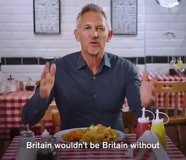 Gary Lineker (pictured on a video stressing the benefits of refugees) has appeared to shrug off the new BBC director-general's warning to employees to cut out political tweeting in an anti-bias dive