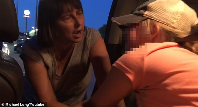 Sophie is seen telling her grandmother, who is her biological mother's mother, of abuse during a custody exchange. She is seen screaming and crying as she refuses to go with her grandmother