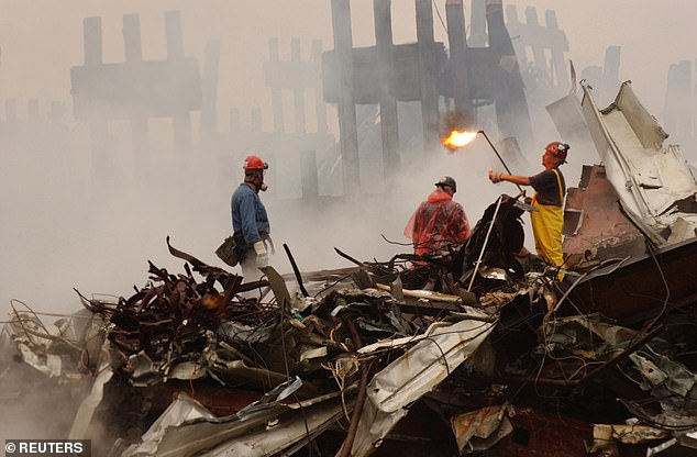 The unnamed officer contracted cancer working with the NYPD on the Ground Zero rescue and recovery operation following the September 11, 2001 terrorist attacks on the World Trade Center