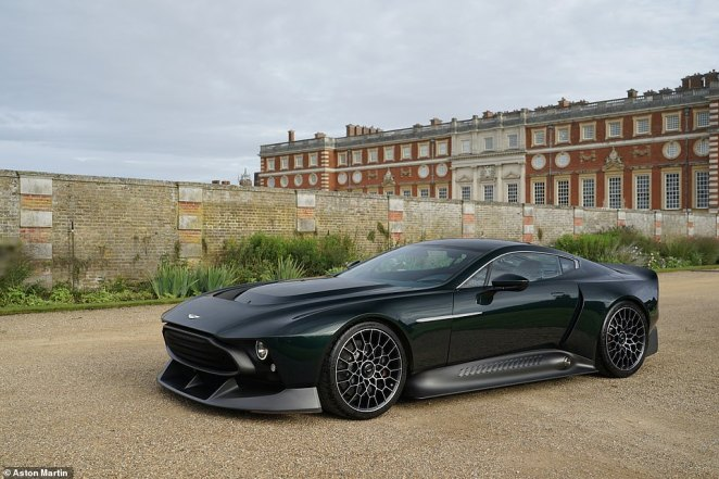 The V12 motor has been tuned to produce a massive 836bhp - up from750bhp originally - and remains naturally aspirated