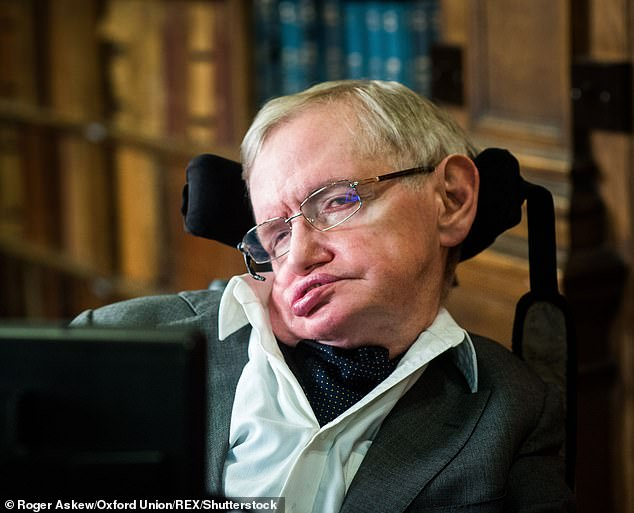 Elaine and Hawking divorced in 2006 and he fell for Diana King, another of his carers. Mlodinow adds: 'Was he attracted to troubled women? I wasn't sure. I thought Diana was intelligent and well read. Nice to chat with; I learned stuff. But that was when she was on her meds'