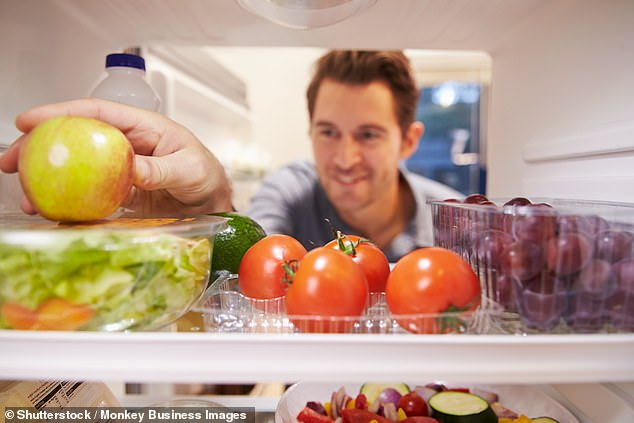 Virginia Hayward spoke to experts for advice on storing 30 food and drinks that are commonly put in the wrong place (file image)