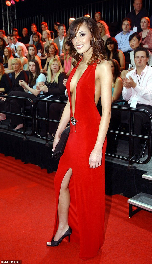 Rebecca Judd at the Brownlow Medal in 2004.WAGs normally strut their stuff on the Brownlow red carpet but this year will be a no-frills affair, according to celebrity stylist Lana Wilkins