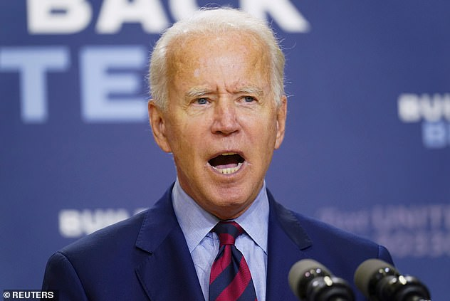 A furious Joe Biden called President Trump's reported comments on American troops 'disgusting' and called on him to apologize